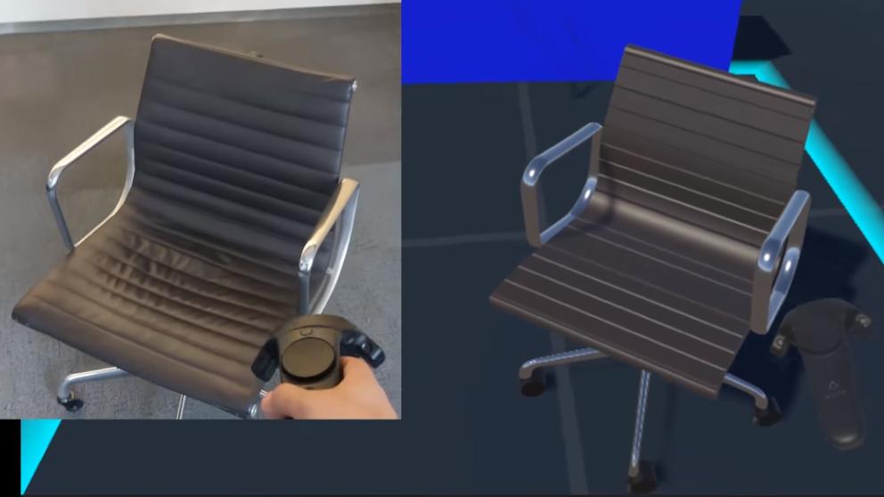 Agile Lens Eames office chair